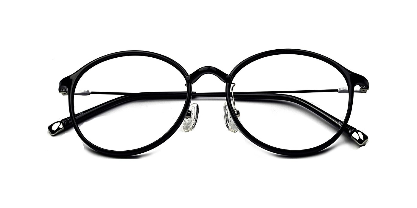 1015 - Black / White Eyeglasses