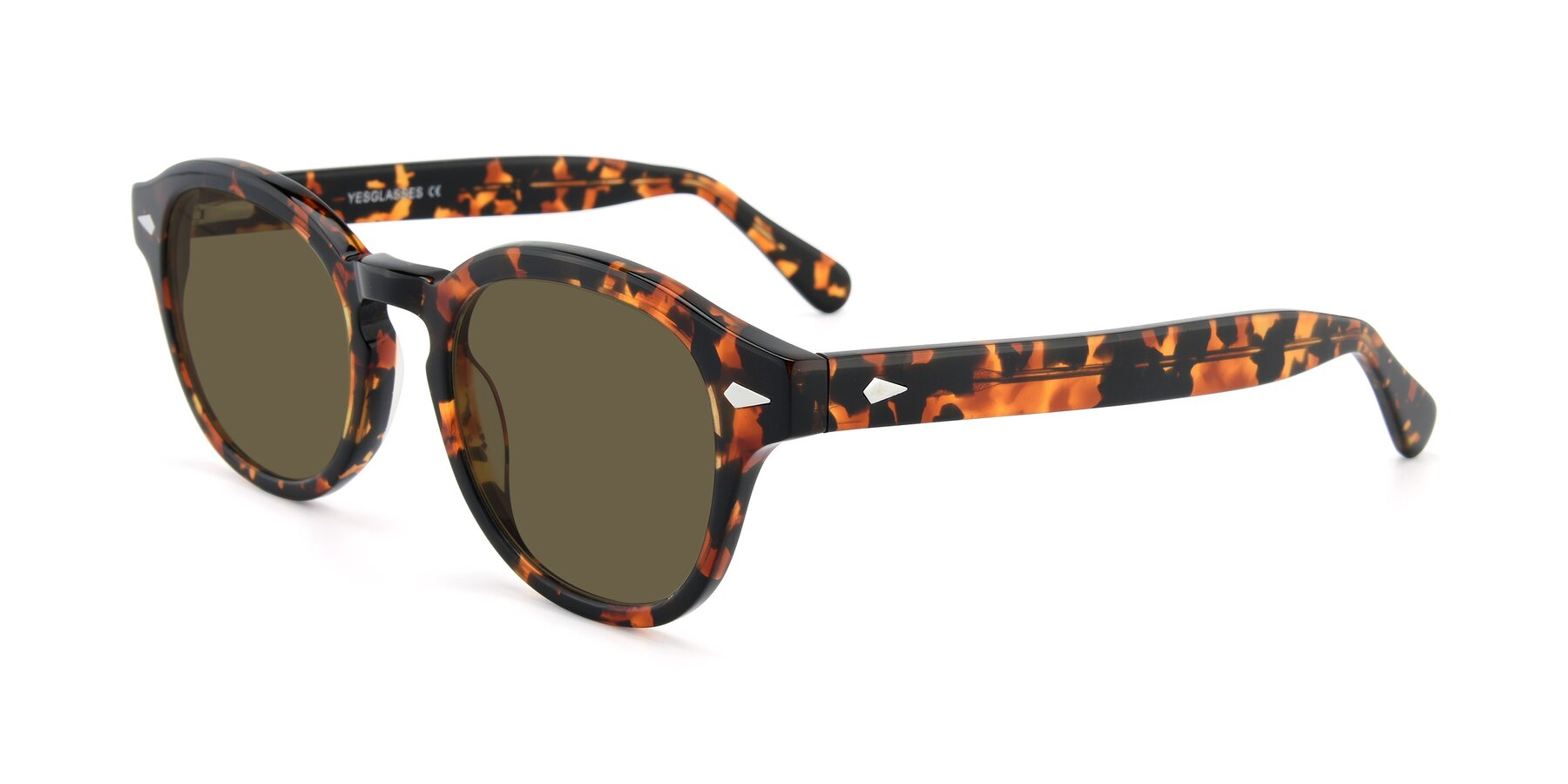 Angle of SR1609 in Tortoise with Brown Polarized Lenses