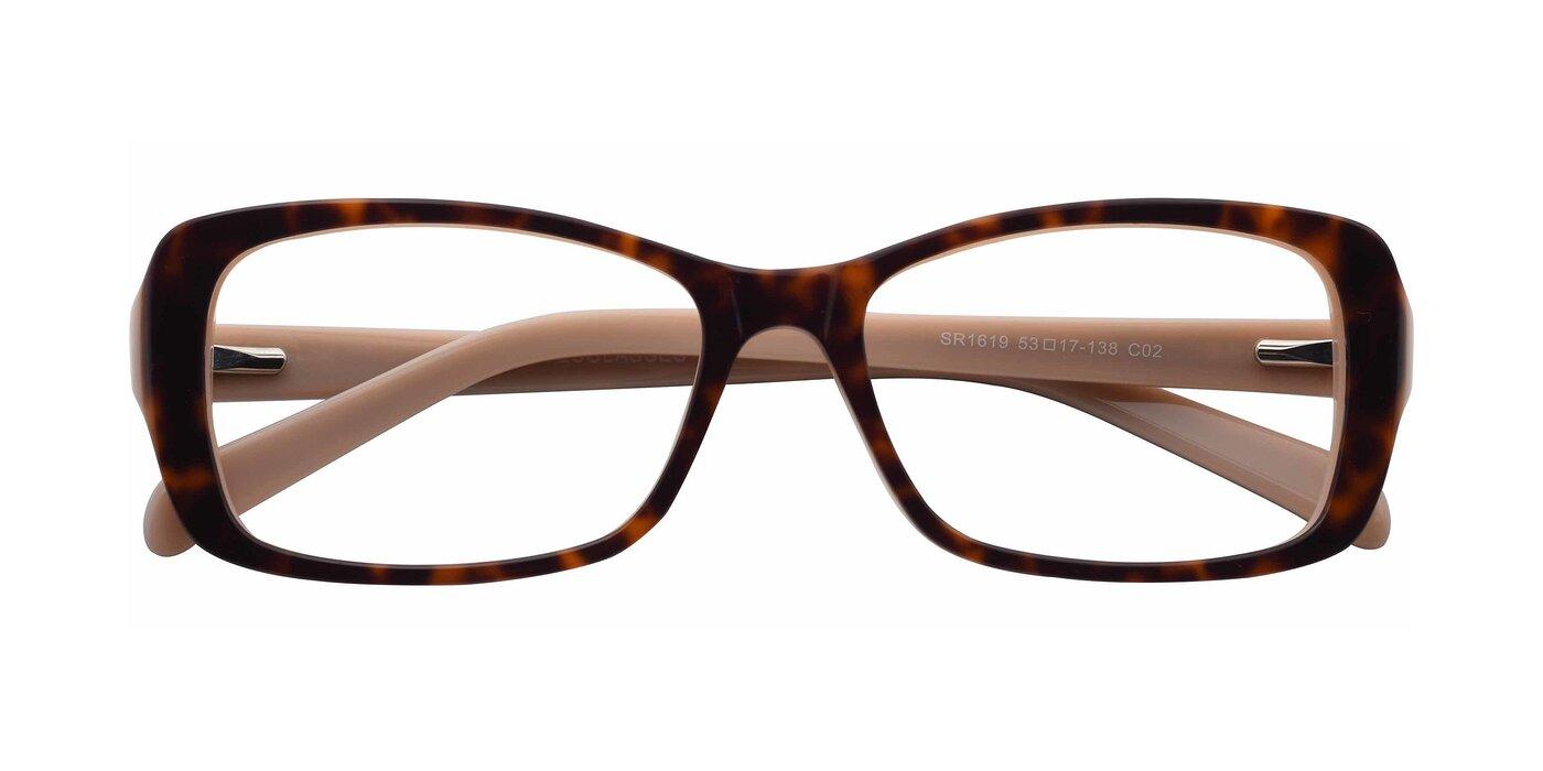 SR1619 - Tortoise / Moccasin Eyeglasses
