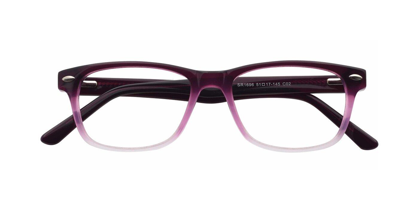 SR1696 - Transparent Gradient Blue Eyeglasses