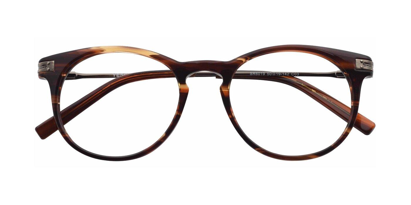 SR6019 - Brown / Tortoise Blue Light Glasses