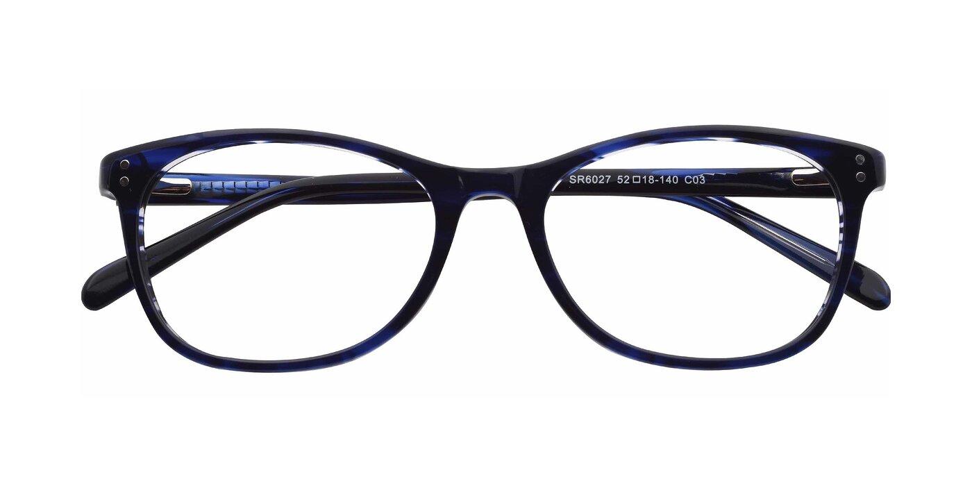 SR6027 - Translucent Navy Eyeglasses