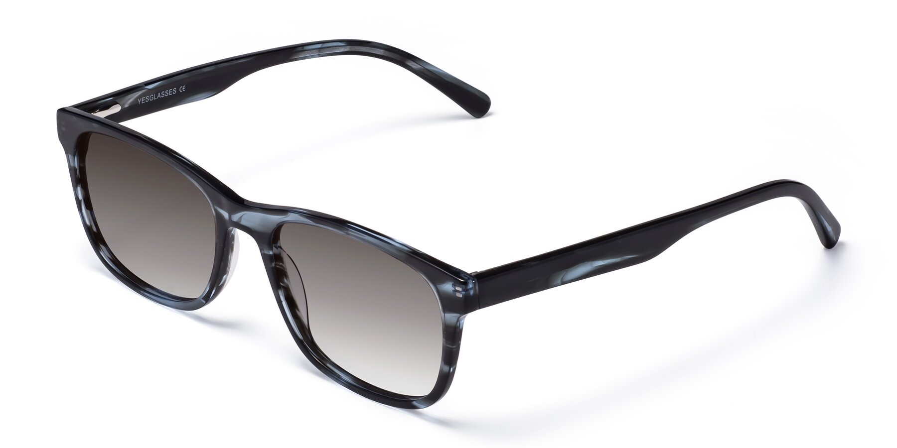 Angle of SR6035 in Blue-Tortoise with Gray Gradient Lenses