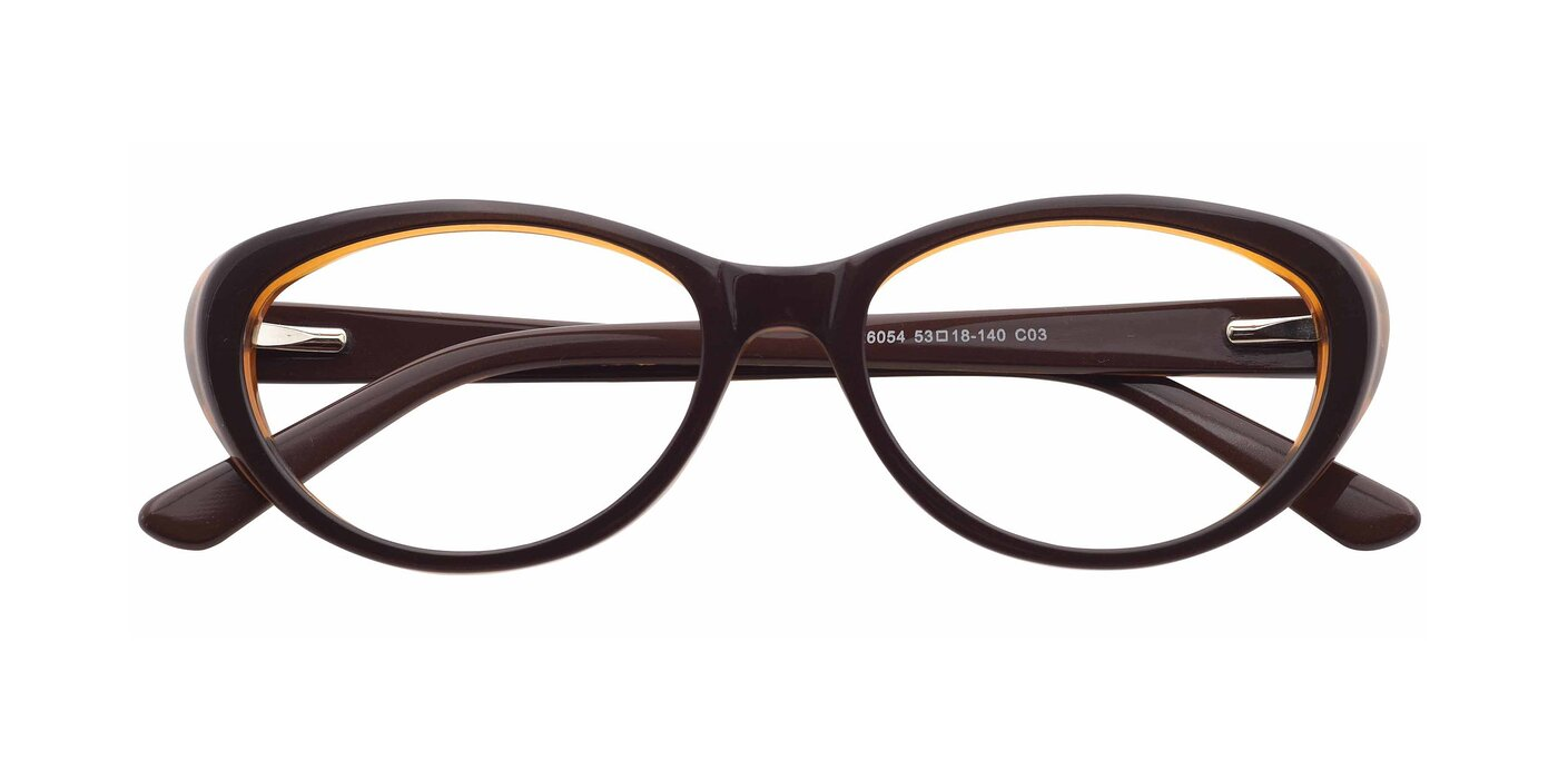 SR6054 - Coffee / Brown Eyeglasses