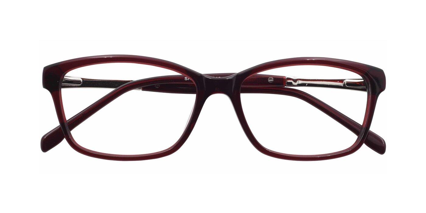 SR6056 - Maroon Eyeglasses