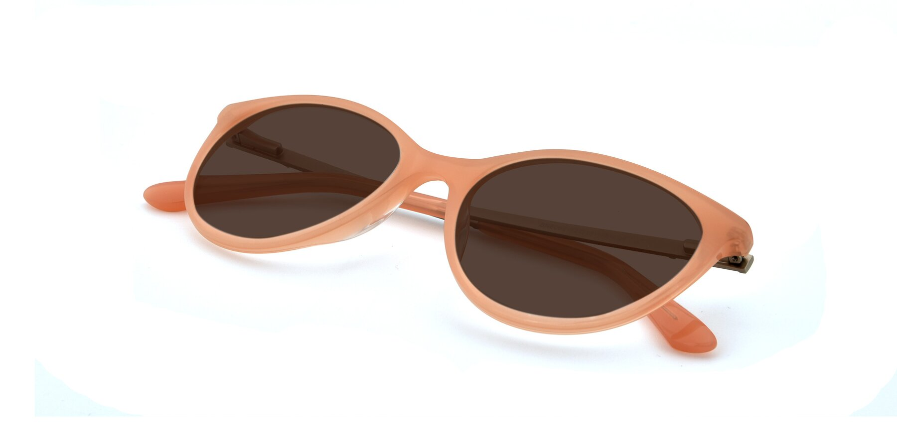View of SR6062 in Pink with Brown Tinted Lenses