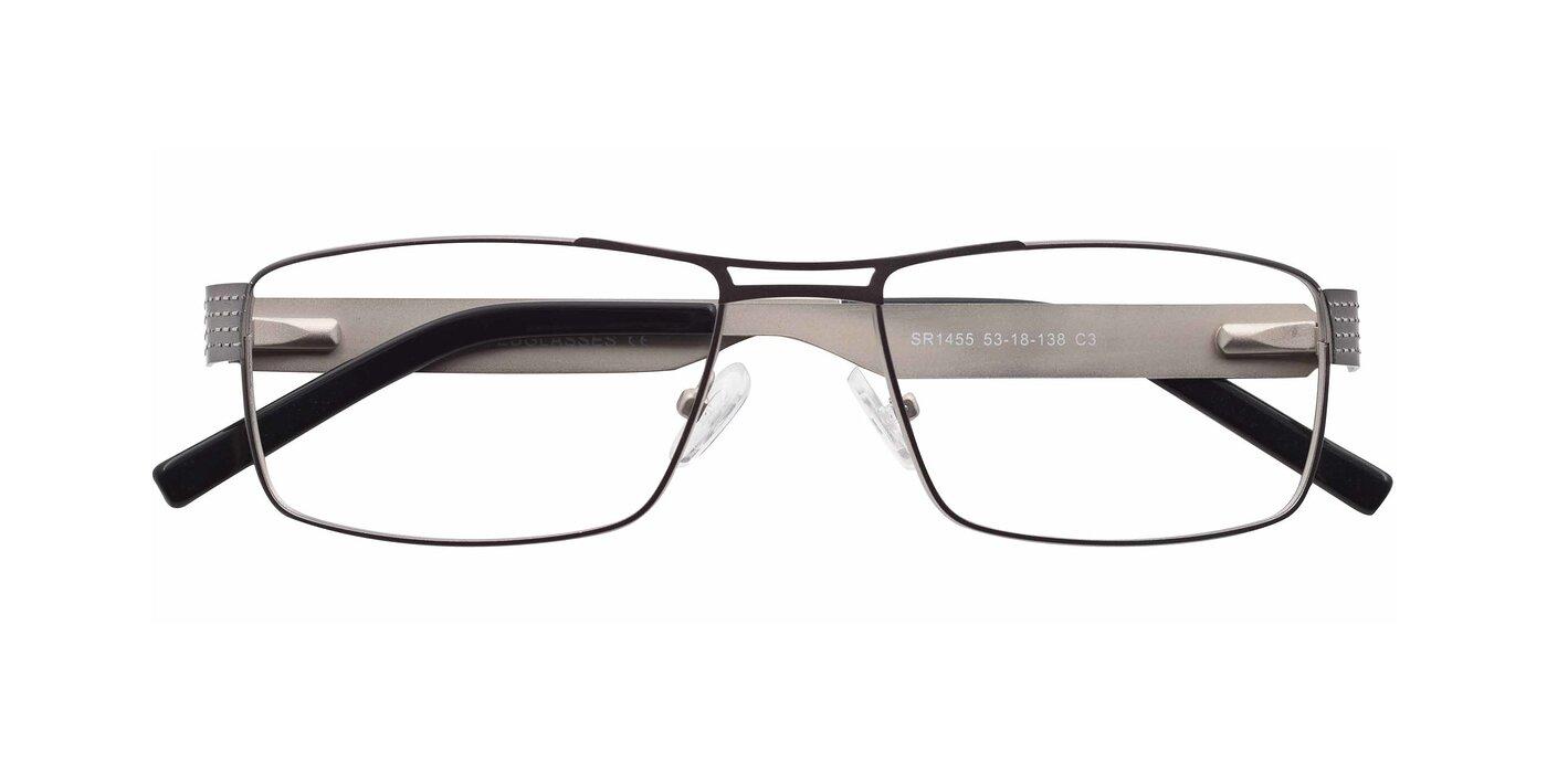 SR1455 - Gun / Silver Eyeglasses