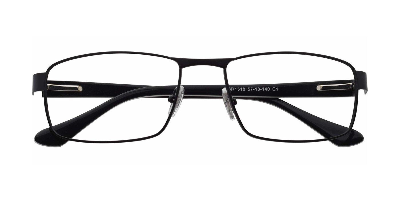 SR1518 - Matte Black Eyeglasses