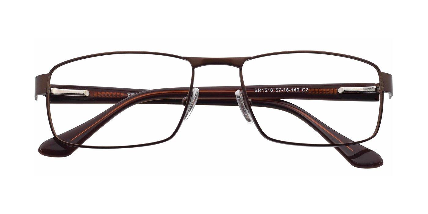 SR1518 - Matte Coffee Eyeglasses