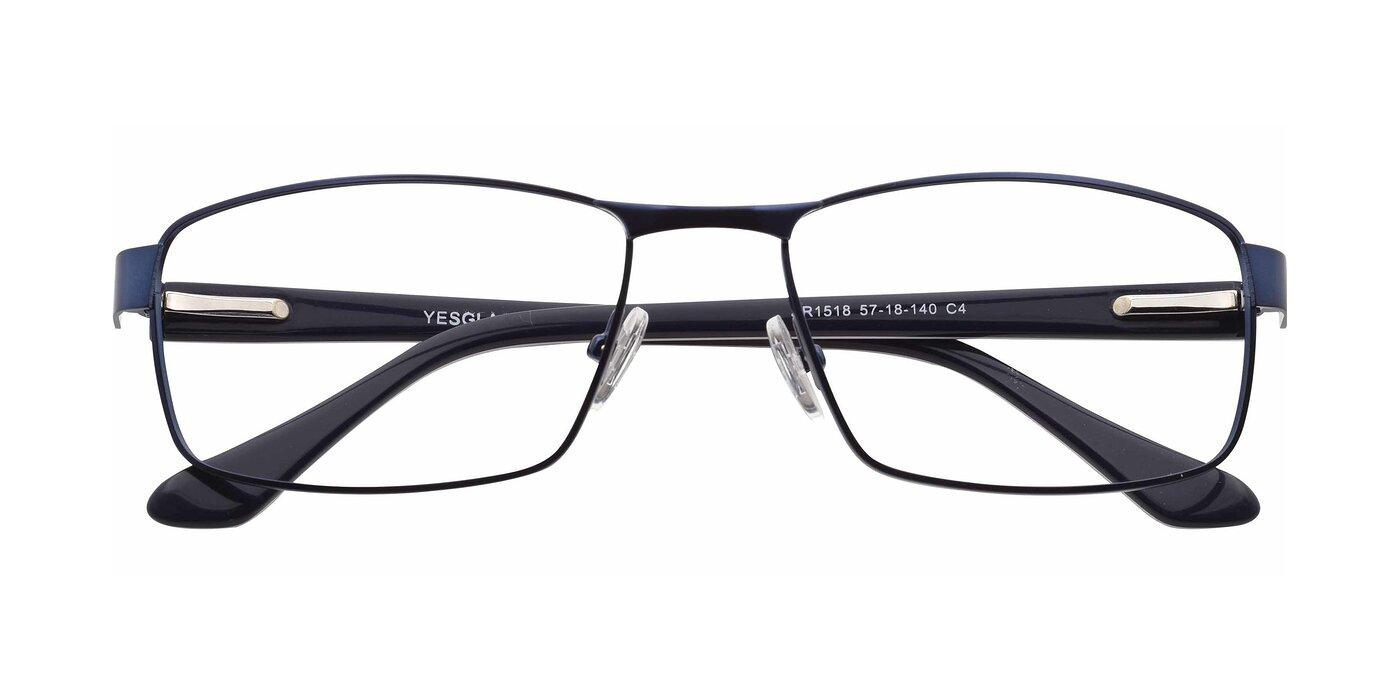 SR1518 - Matte Blue Eyeglasses