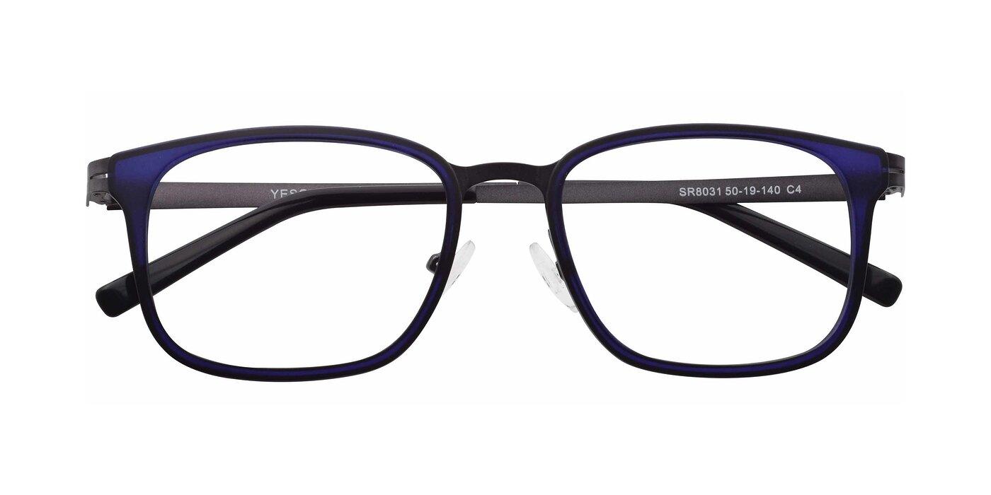 SR8031 - Blue / Gun Eyeglasses