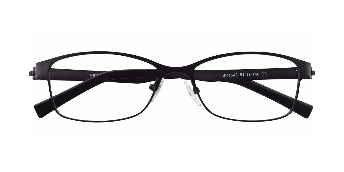 SR1543 - Gunmetal Eyeglasses