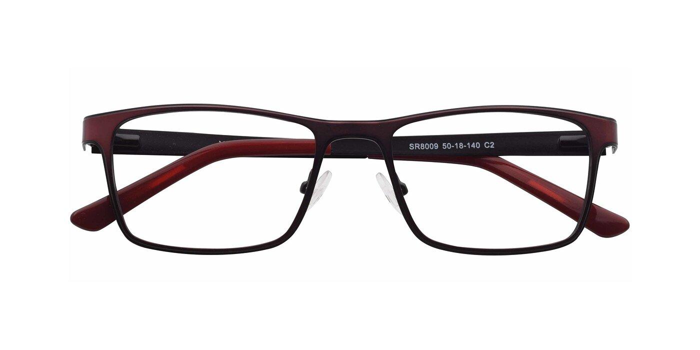 SR8009 - Wine / Black Eyeglasses