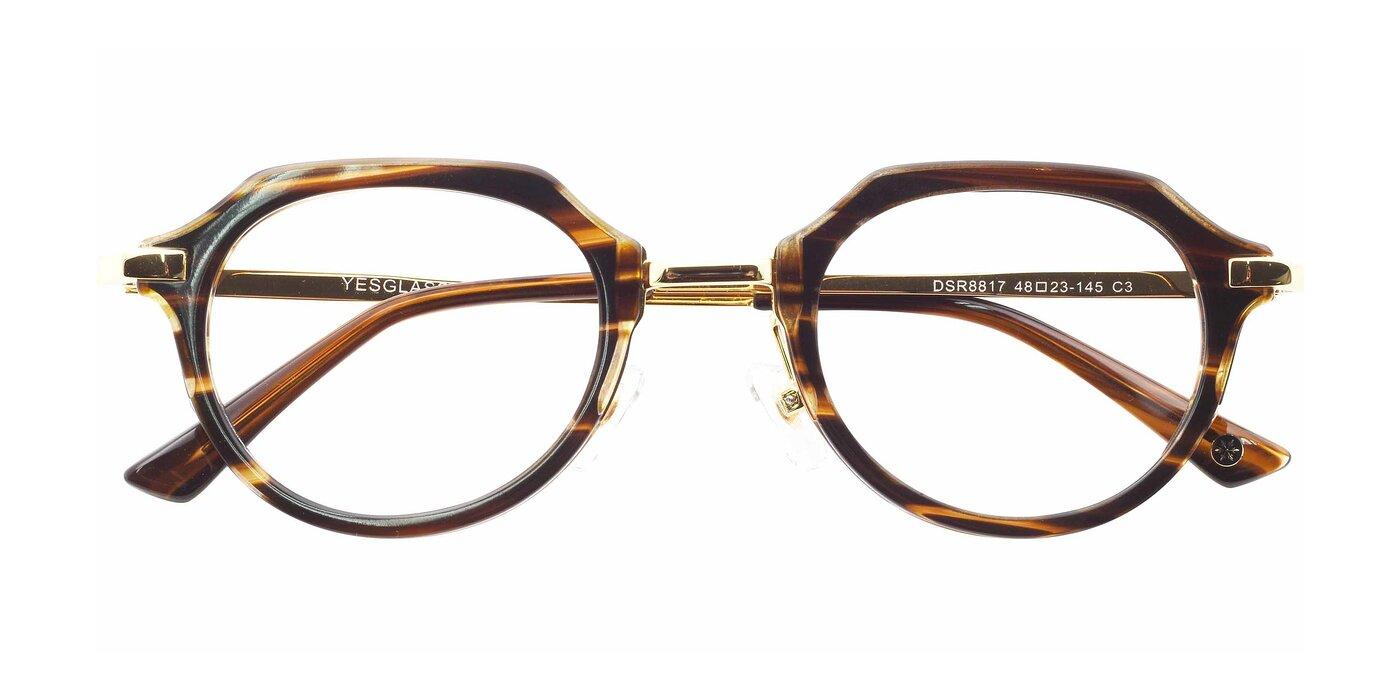 DSR8817 - Grey Tortoise Eyeglasses
