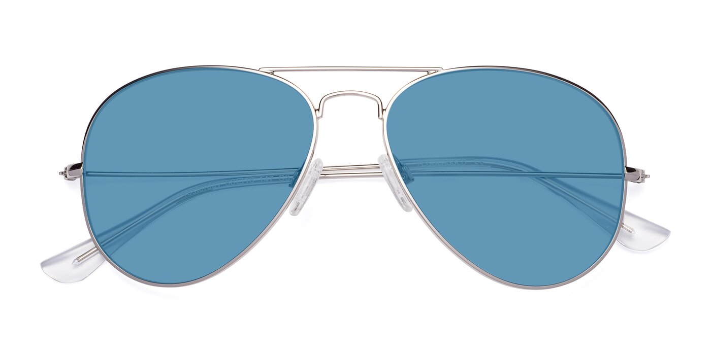 Yesterday - Silver Tinted Sunglasses