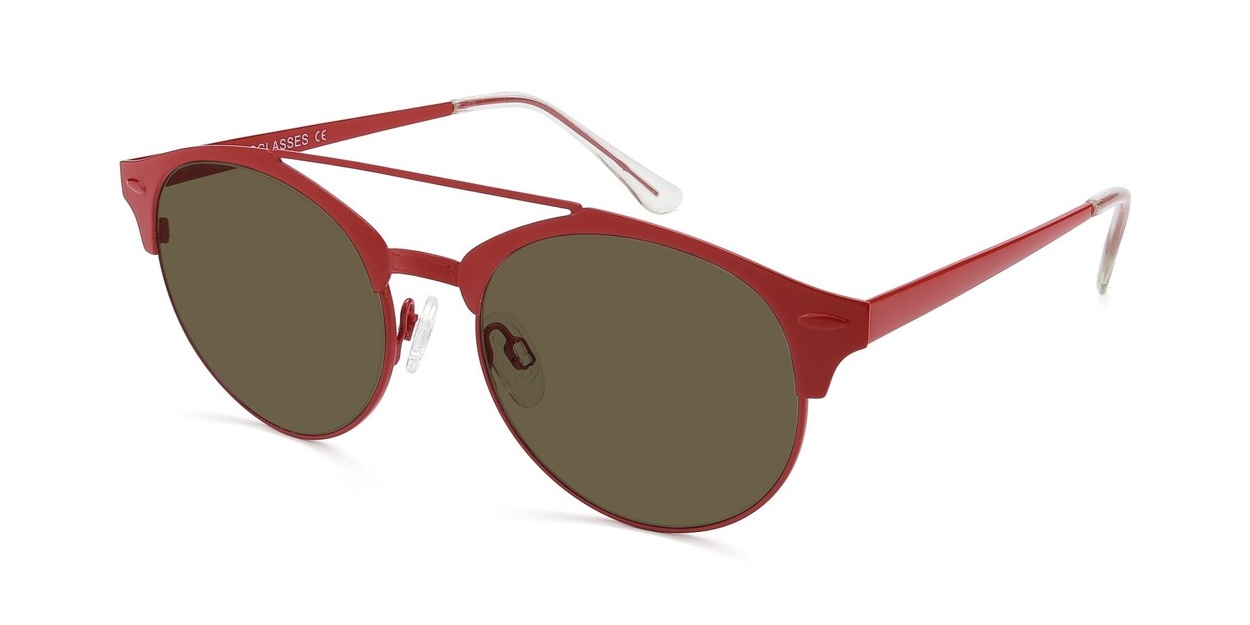 Angle of SSR183 in Red with Brown Polarized Lenses
