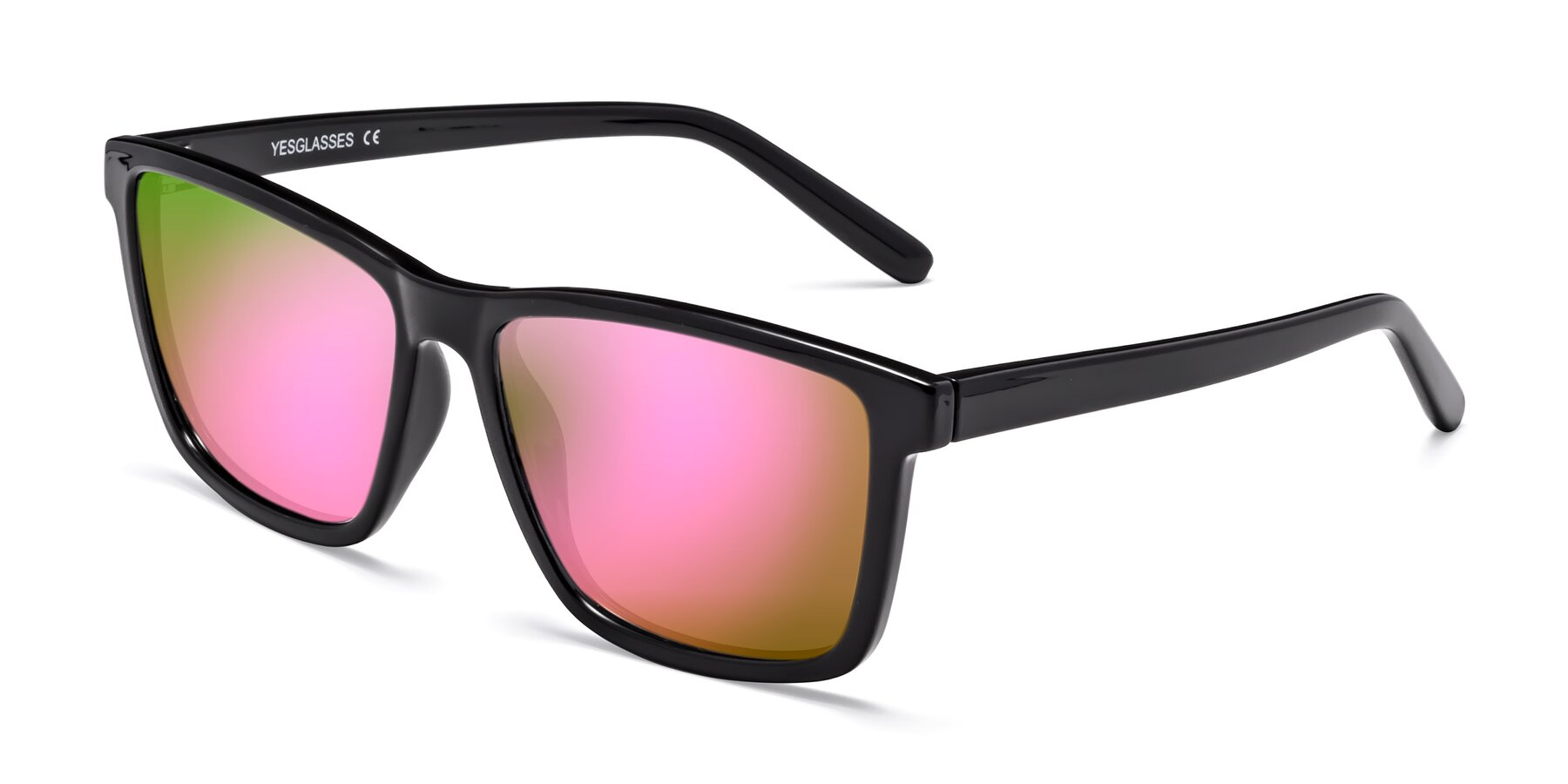 Angle of SSR724 in Tortoise with Pink Mirrored Lenses