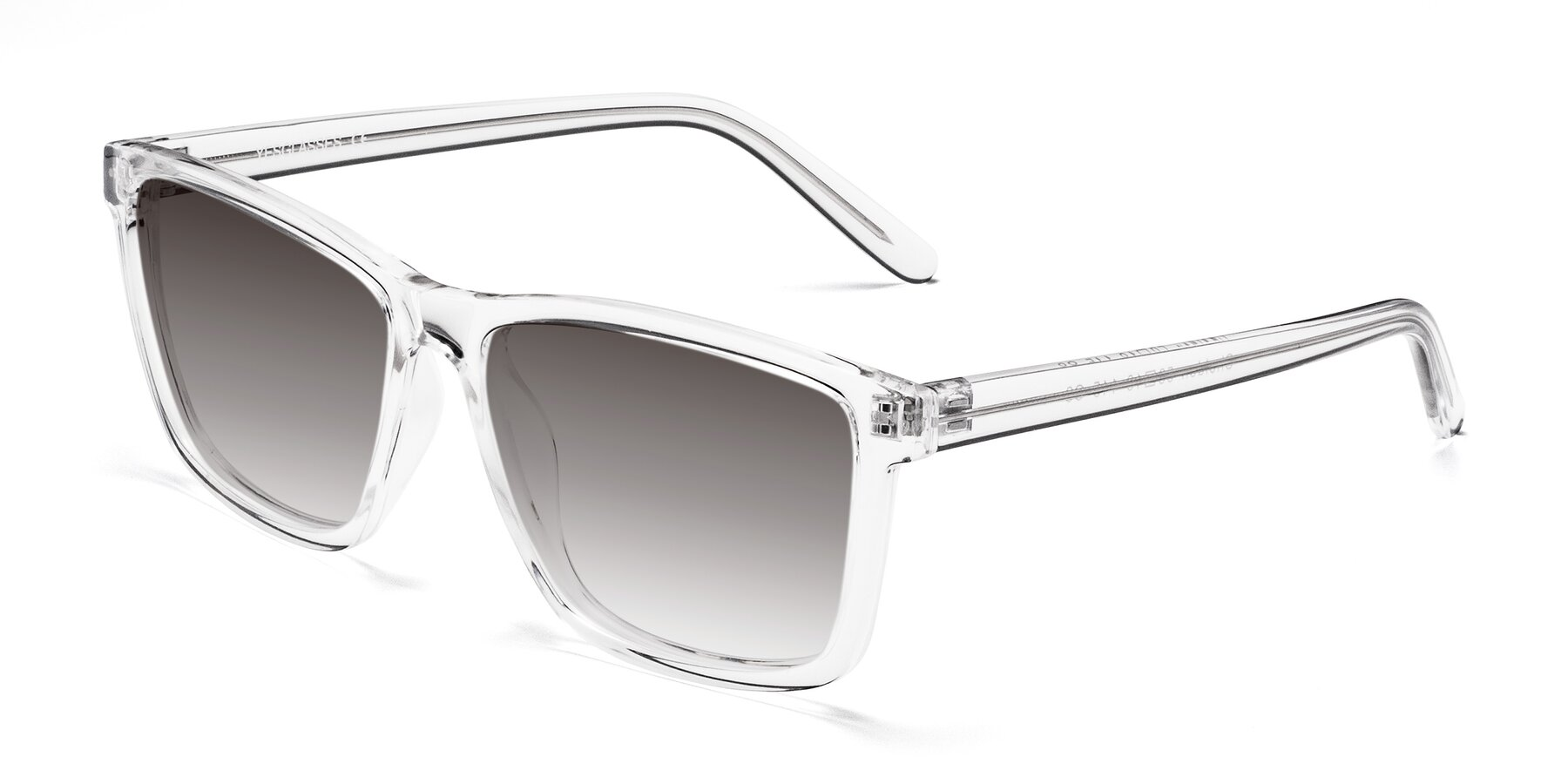 Angle of SSR724 in Clear with Gray Gradient Lenses