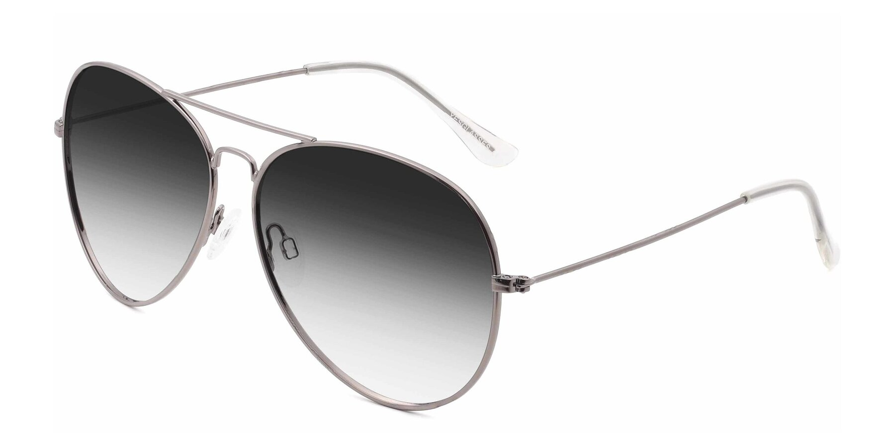 Angle of SSR179 in Gunmetal with Gray Gradient Lenses