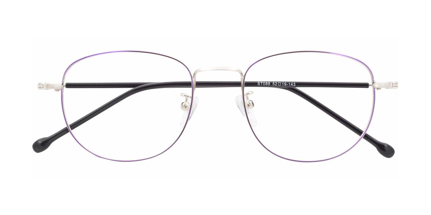 ST088 - Purple / Silver Eyeglasses