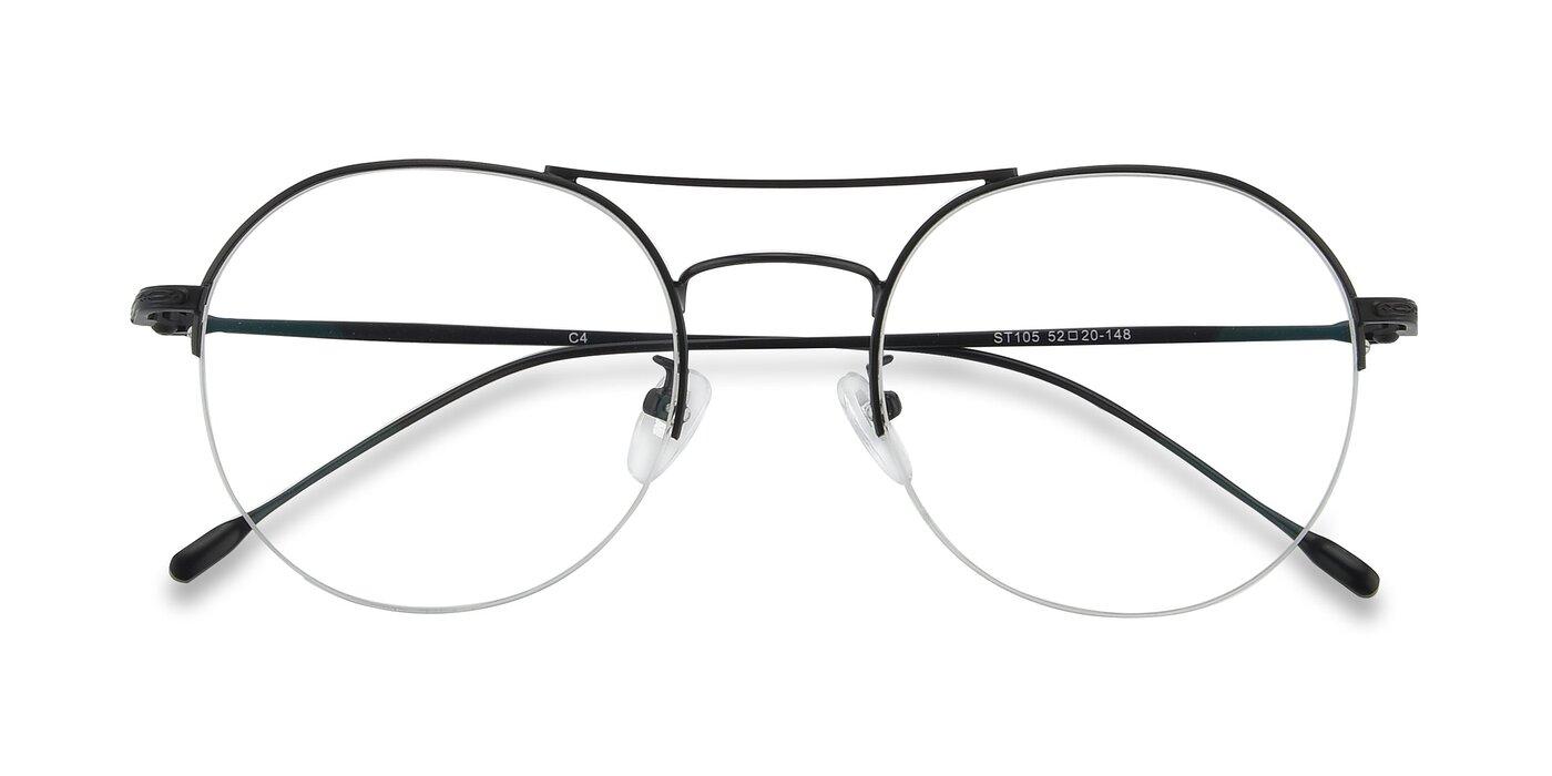 ST105 - Black Blue Light Glasses