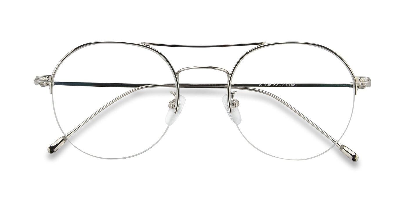 ST105 - Silver Eyeglasses