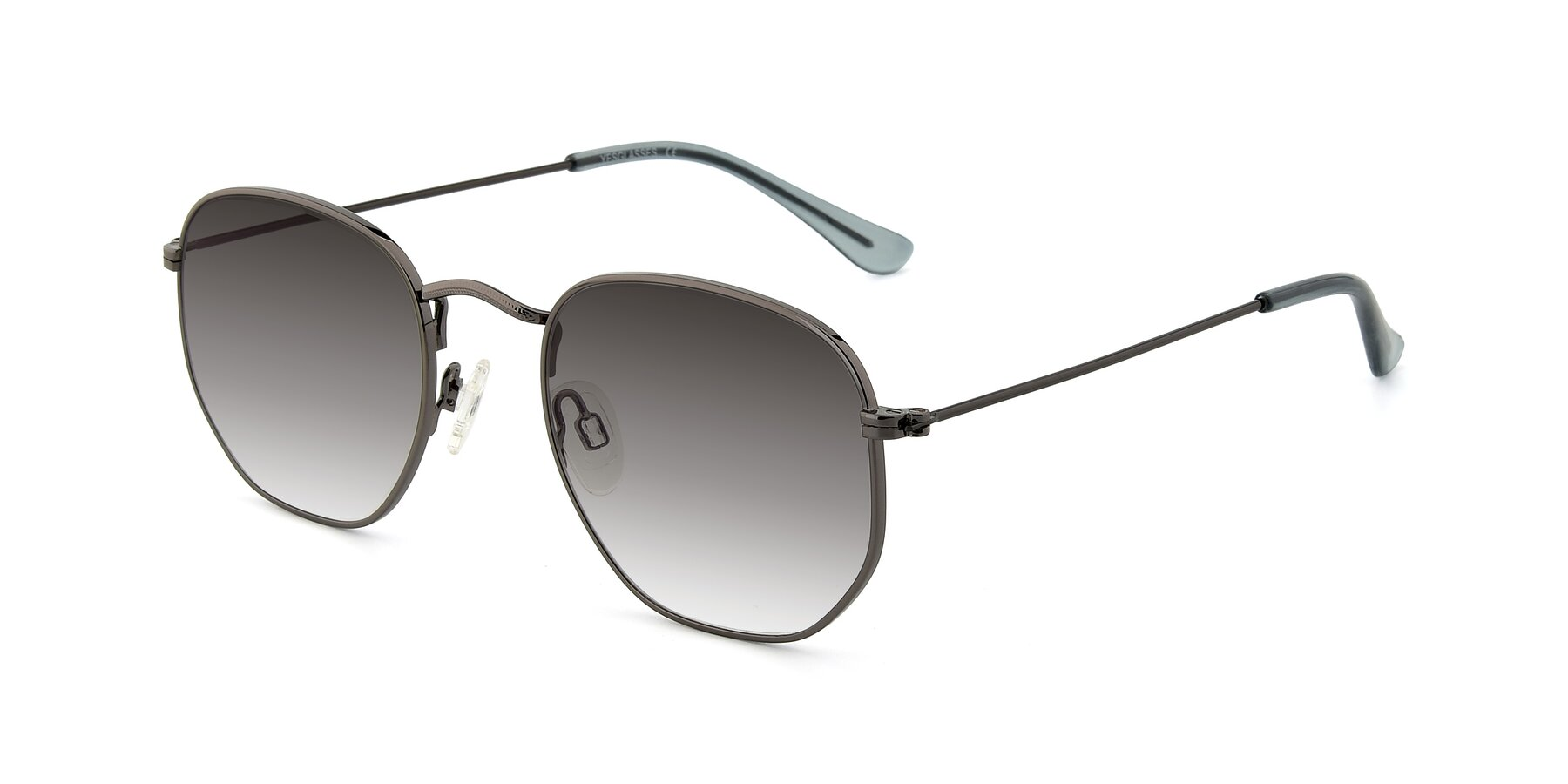 Angle of SSR1943 in Grey with Gray Gradient Lenses