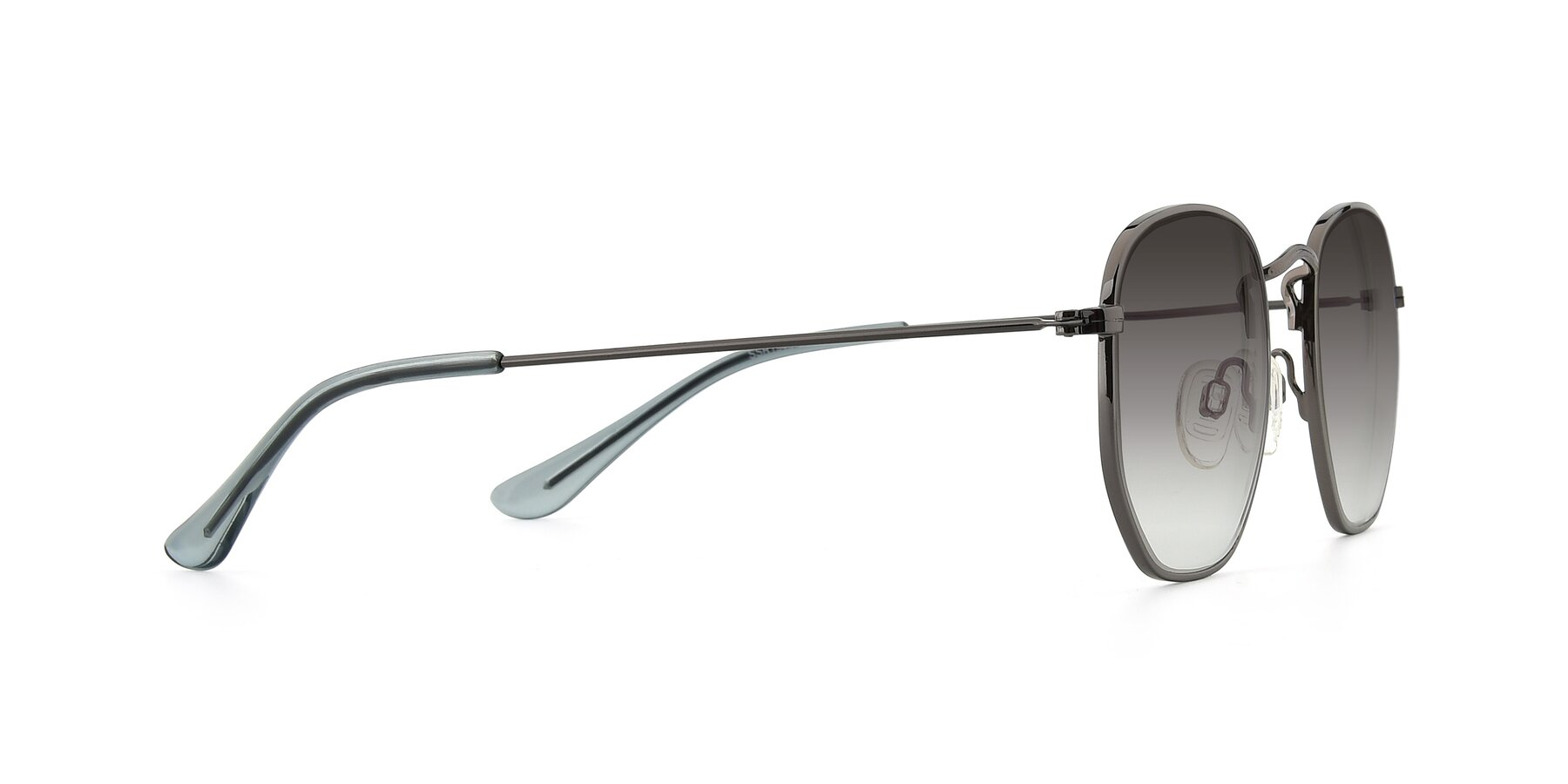 Side of SSR1943 in Grey with Gray Gradient Lenses