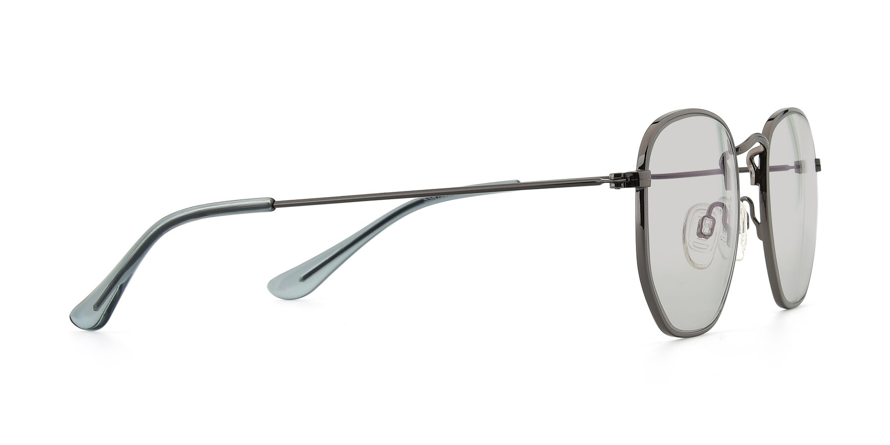 Side of SSR1944 in Grey with Light Gray Tinted Lenses