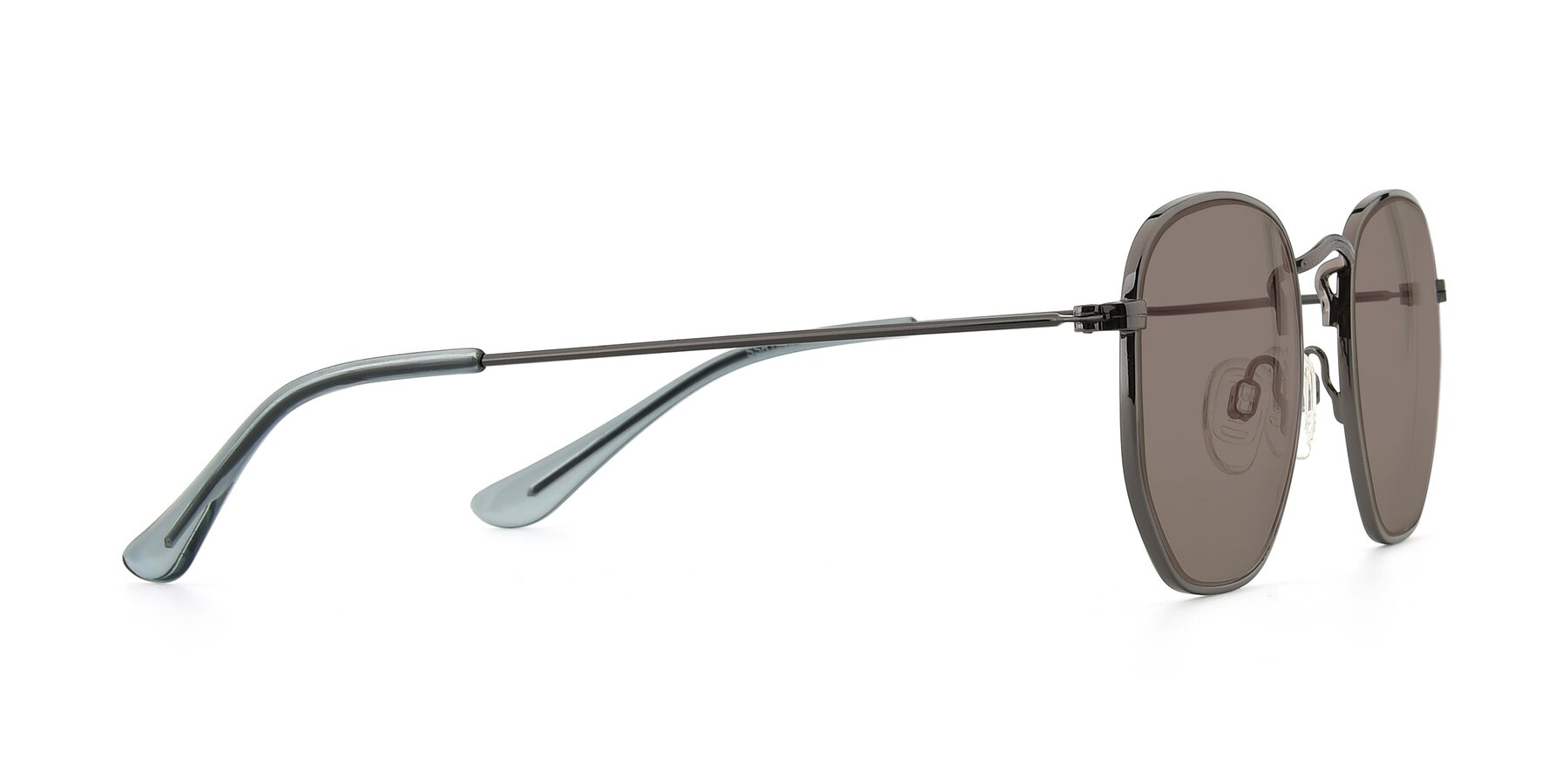 Side of SSR1944 in Grey with Medium Brown Tinted Lenses