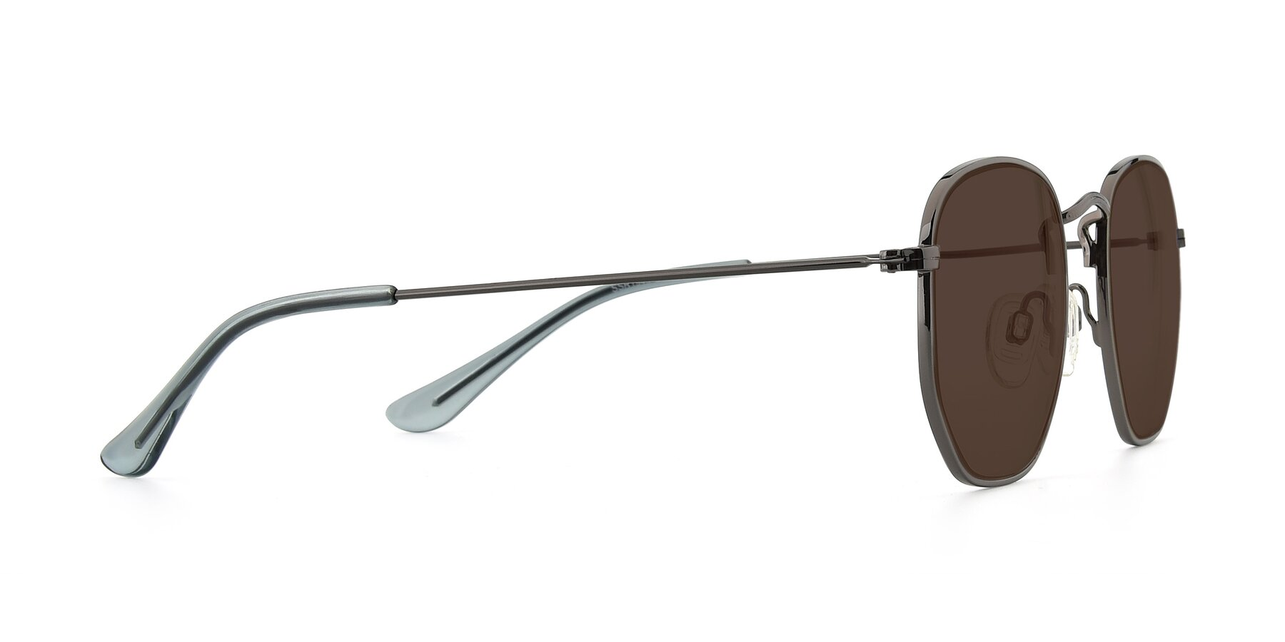 Side of SSR1944 in Grey with Brown Tinted Lenses