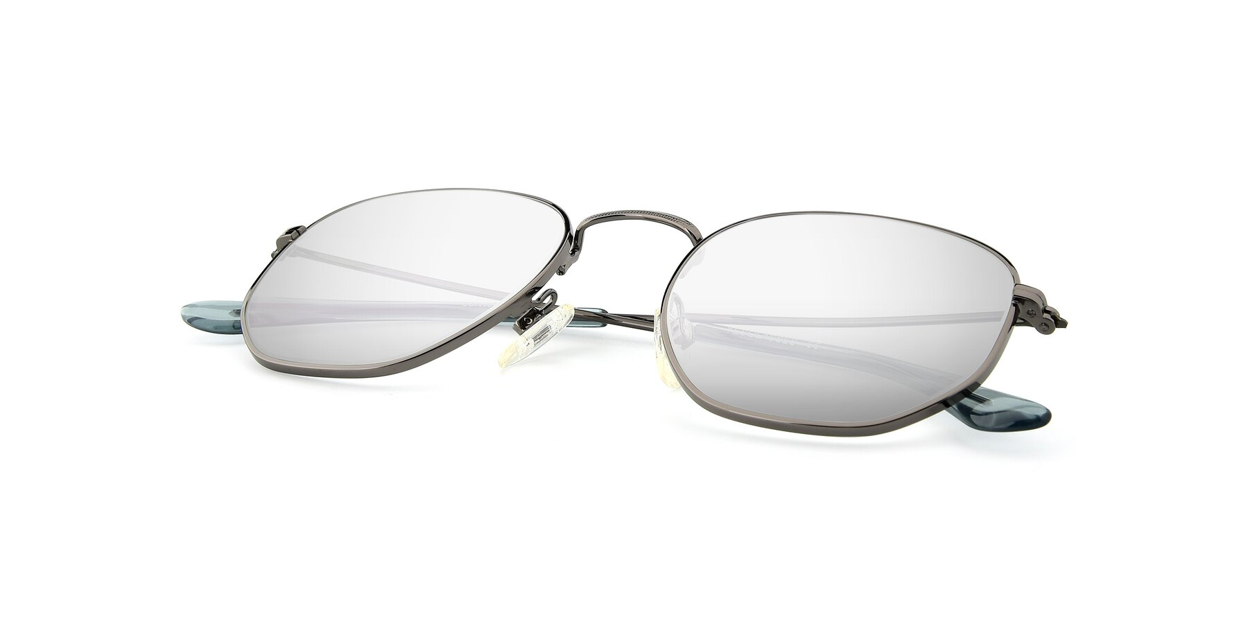 View of SSR1944 in Grey with Silver Mirrored Lenses