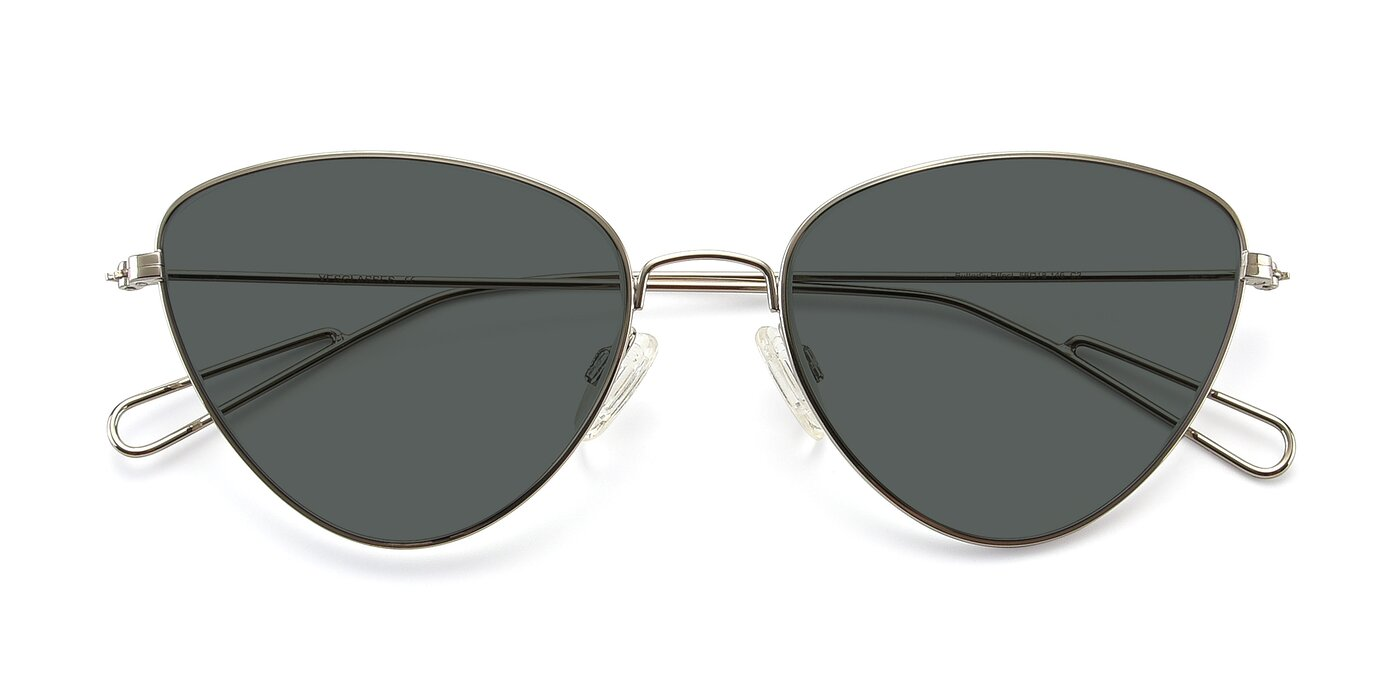 Butterfly Effect - Silver Polarized Sunglasses