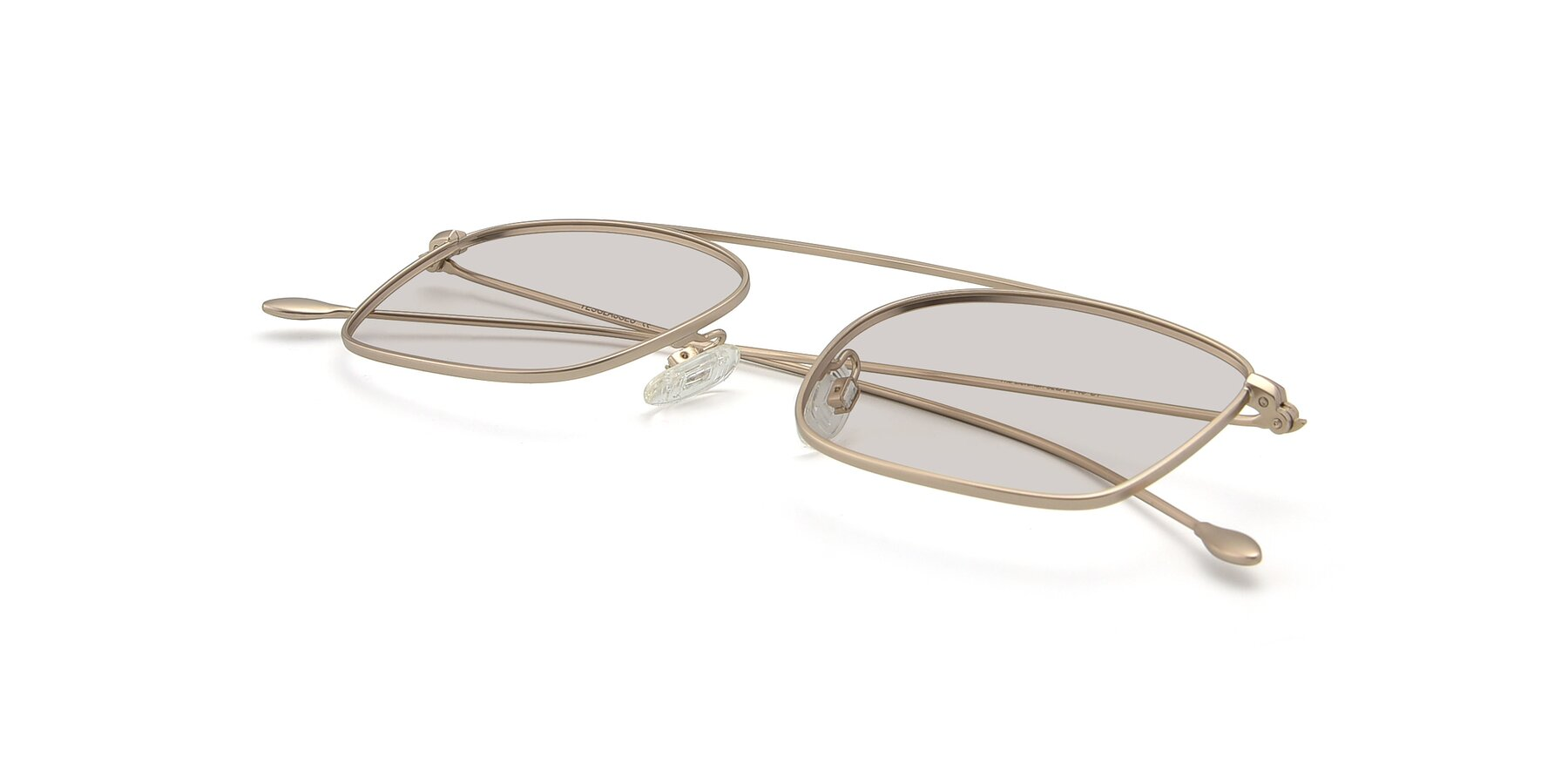 View of The Librarian in Copper with Light Brown Tinted Lenses
