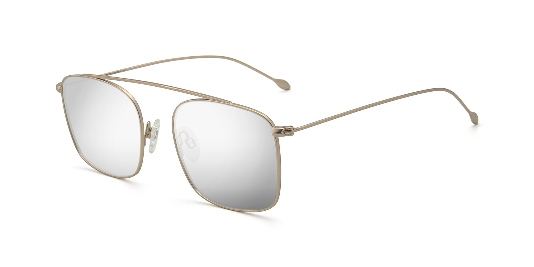 Angle of The Librarian in Copper with Silver Mirrored Lenses