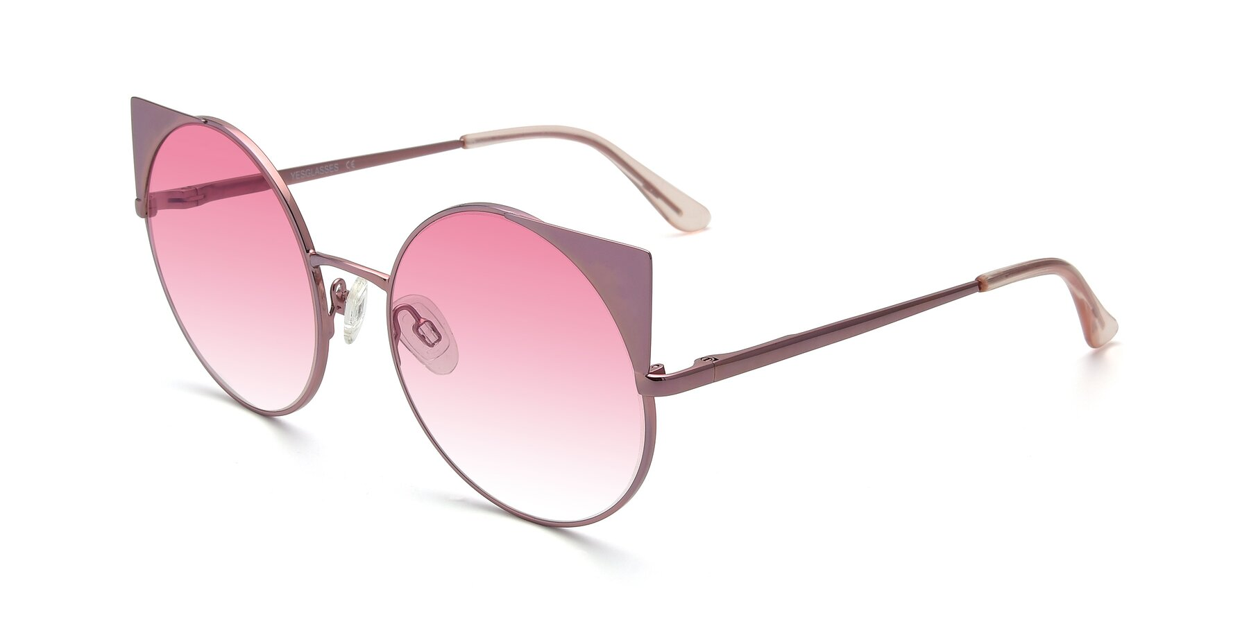 Angle of SSR1955 in Pink with Pink Gradient Lenses