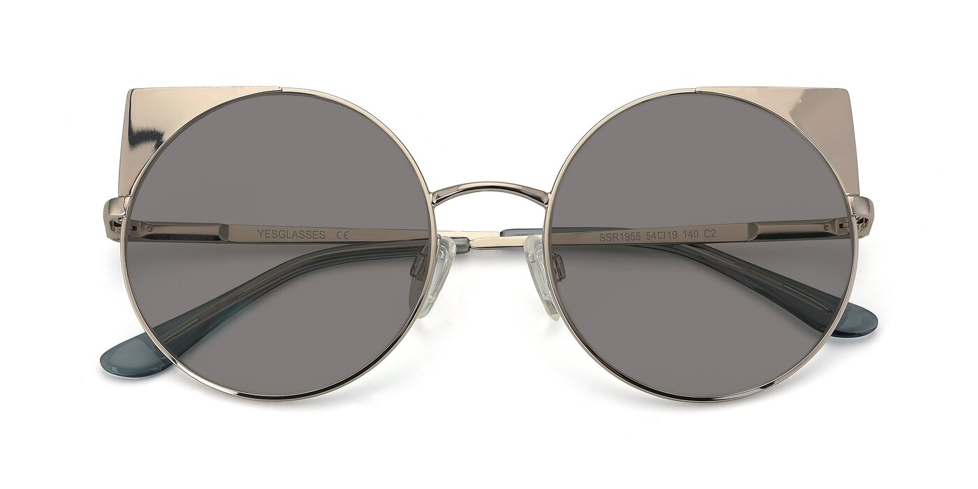 SSR1955 - Silver Tinted Sunglasses