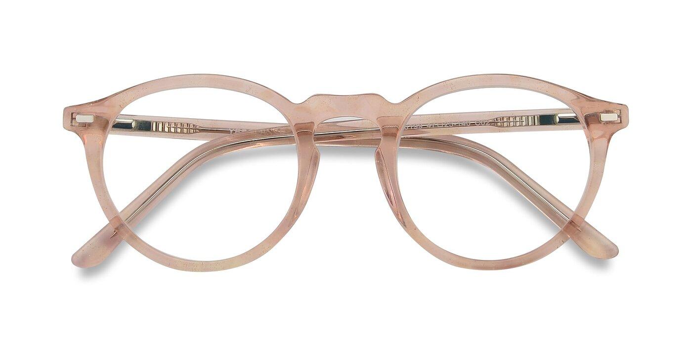 6199 - Translucent Pink Eyeglasses
