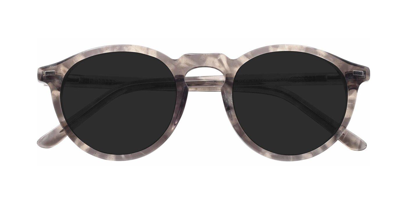 6199 - Translucent Grey Tinted Sunglasses