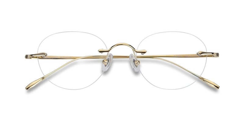 K30011 - Gold Eyeglasses