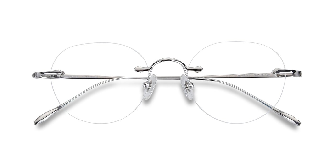 K30011 - Silver Eyeglasses