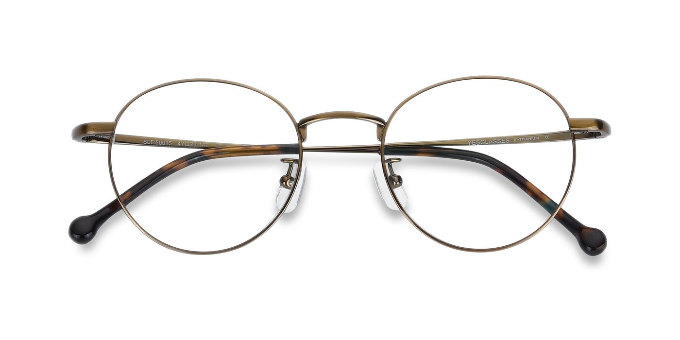 SLE50015 - Bronze Eyeglasses