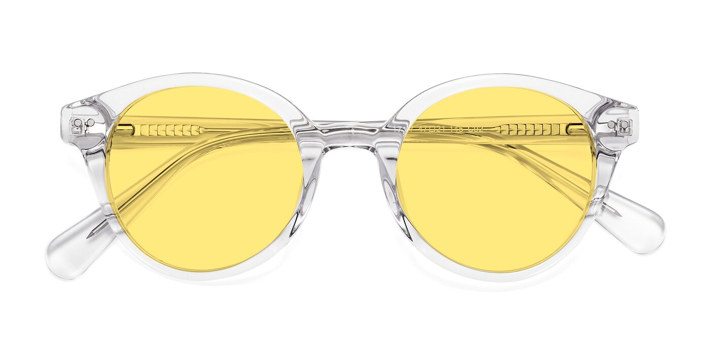 17277 - Clear Tinted Sunglasses