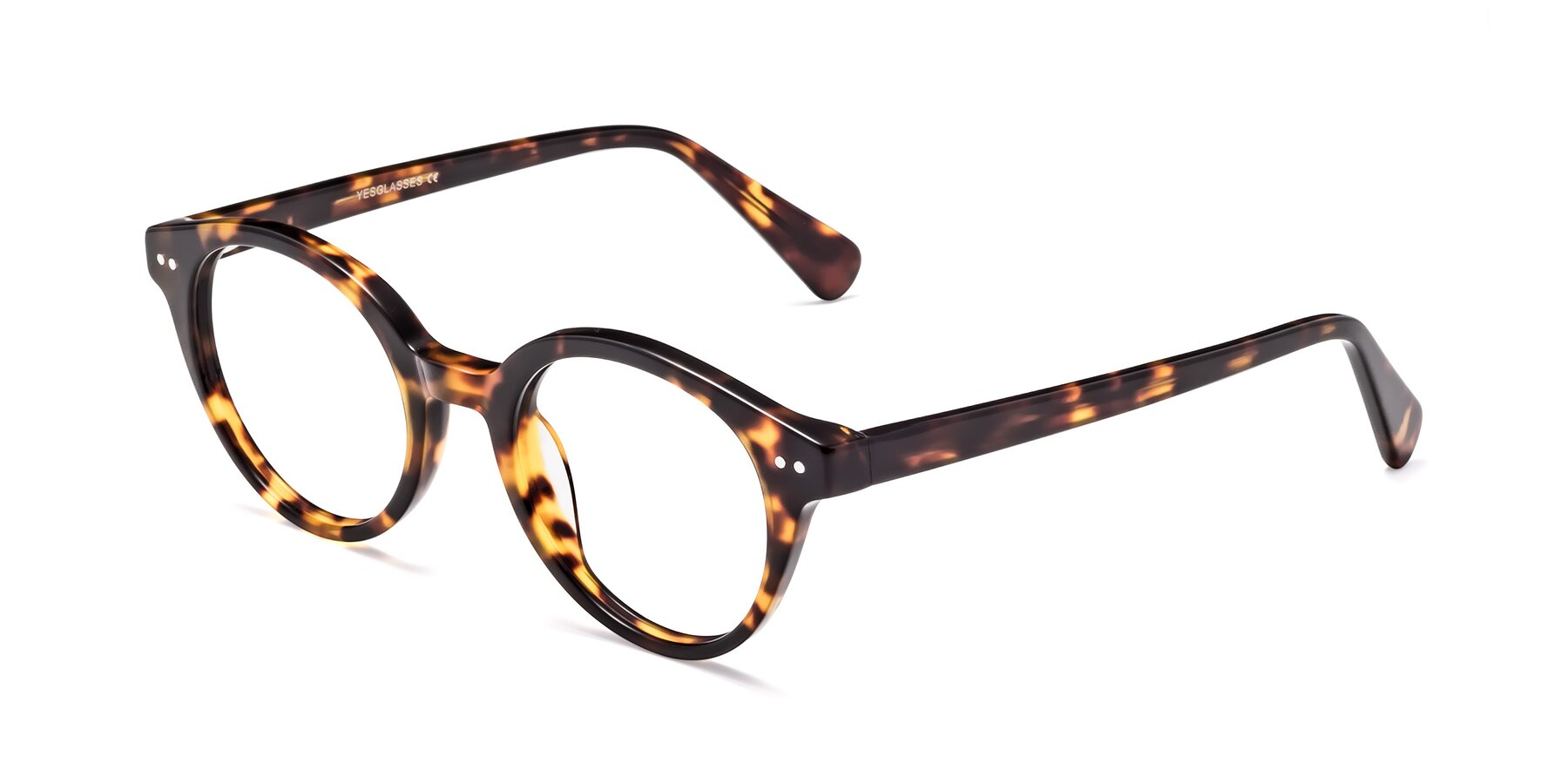 Angle of 17277 in Tortoise with Clear Blue Light Blocking Lenses