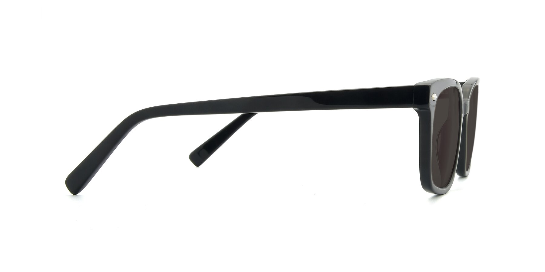 Side of 17349 in Black with Gray Tinted Lenses