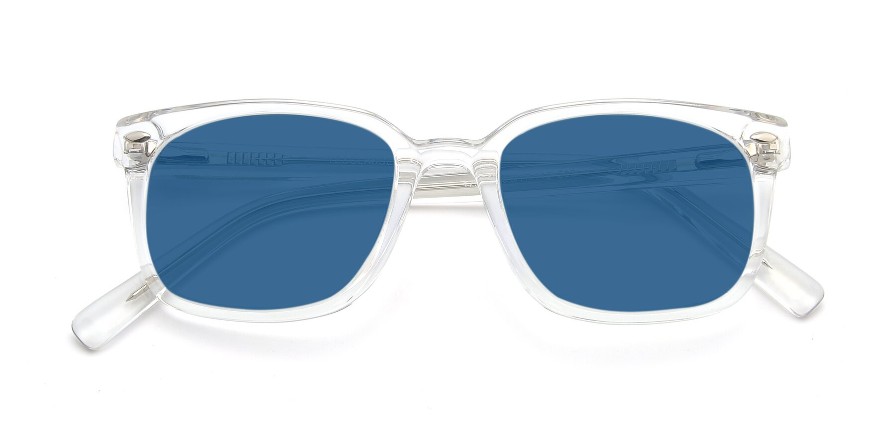 Folded Front of 17349 in Clear with Blue Tinted Lenses
