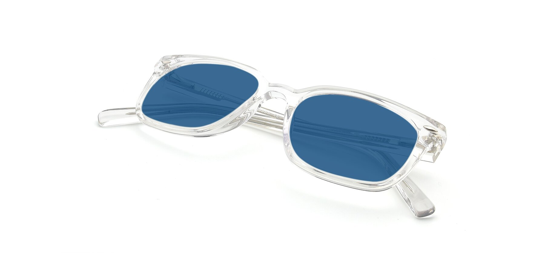 View of 17349 in Clear with Blue Tinted Lenses
