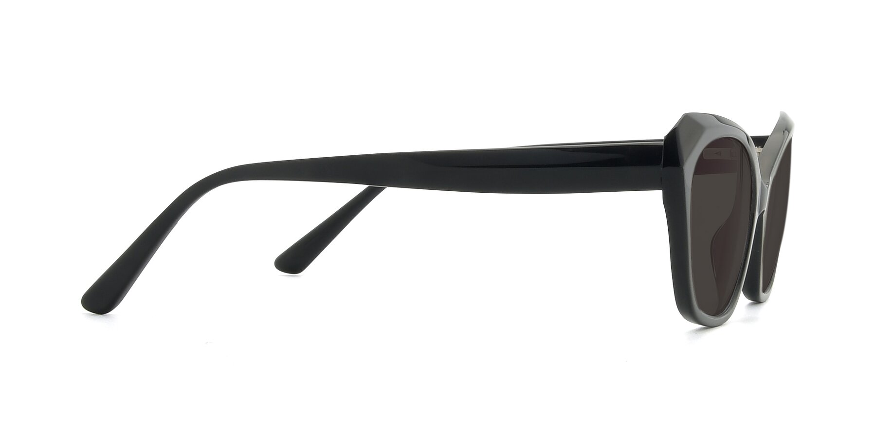 Side of 17351 in Black with Gray Tinted Lenses