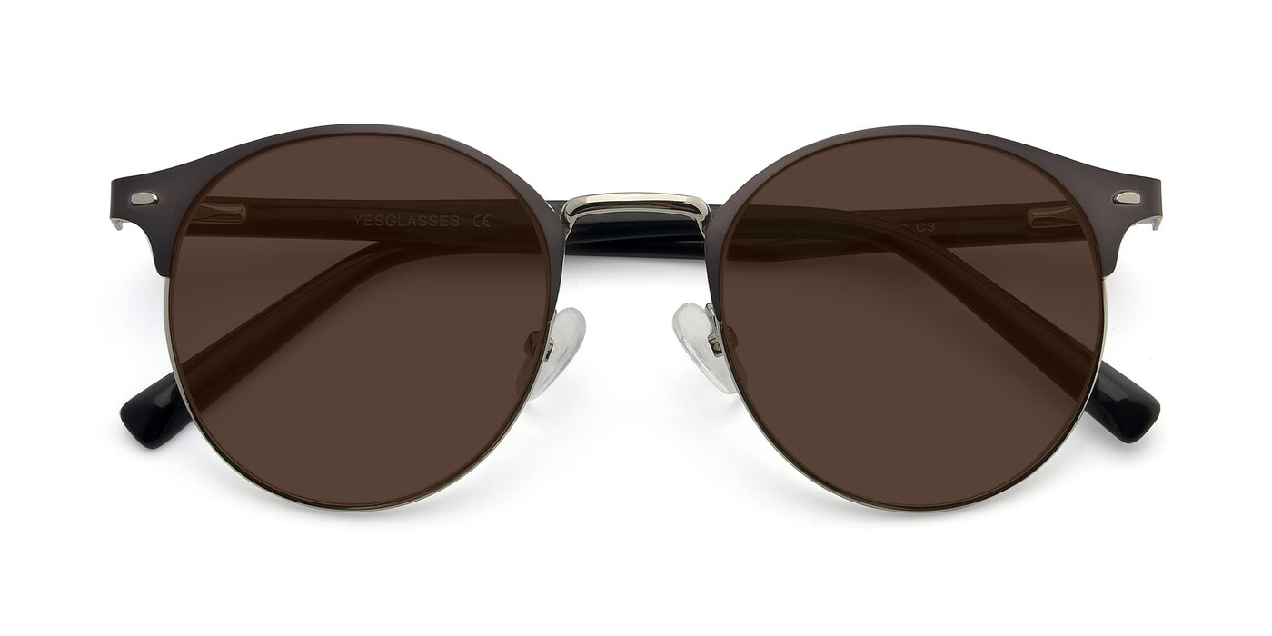 9099 - Gray / Silver Tinted Sunglasses