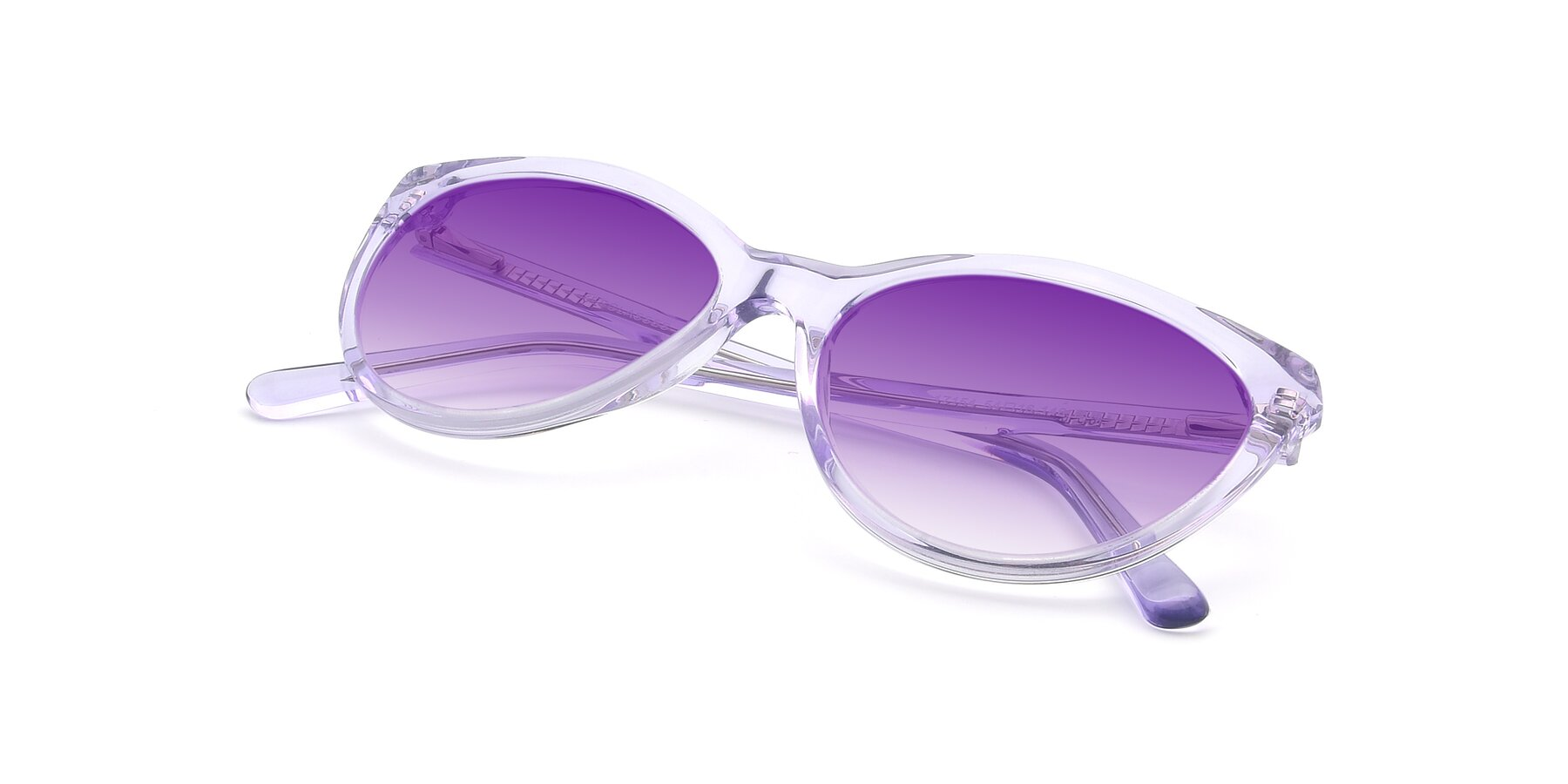 View of 17154 in Transparent Lavender with Purple Gradient Lenses